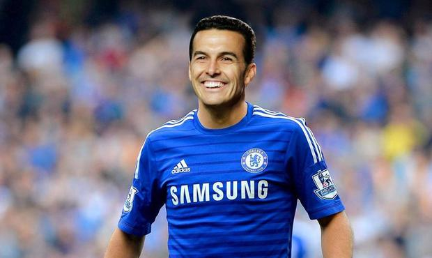 What Pedro will look like in a Chelsea strip