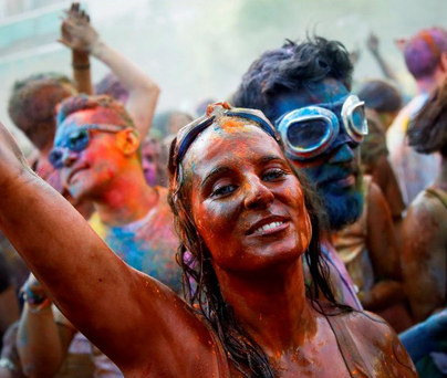 The Holi One Colour Festival was to be held in Dublin on Saturday.