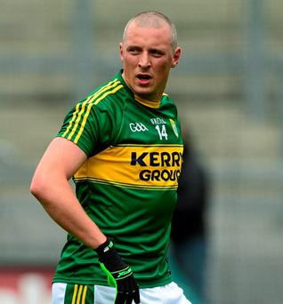 Kerry's Kieran Donaghy is back to face Tyrone on Sunday
