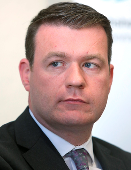 Alan Kelly, Minister for the Environment, Community and Local Government at the publication of a national strategy to reduce lead in drinking water. Picture credit; Damien Eagers 9/6/2015