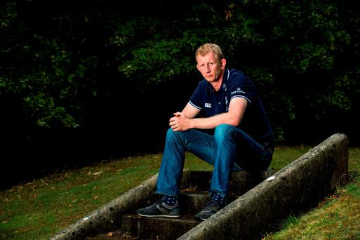New Leinster head coach Leo Cullen after being announced as Head Coach on a two year deal