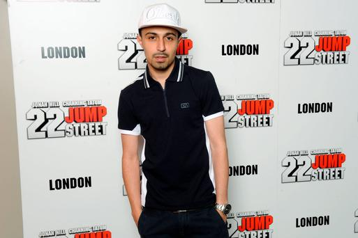 LONDON, ENGLAND - JUNE 04: Adam Deacon attends the special celebrity screening of 22 Jump Street taking place at the new Firmdale Hotel, Ham Yard Hotel based near Piccadilly Circus on Wednesday 4th June 2014 in London, England. (Photo by Dave J Hogan/Getty Images for Sony)
