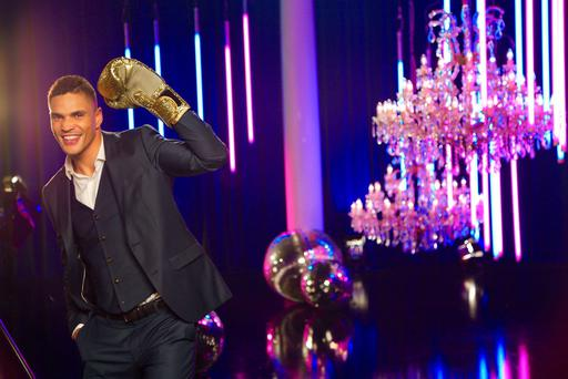 Anthony Ogogo, the latest celebrity contestant revealed to be taking part in this year's Strictly Come Dancing.