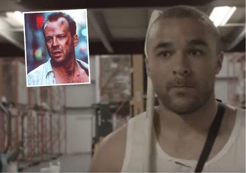Simon Zebo as John McClane