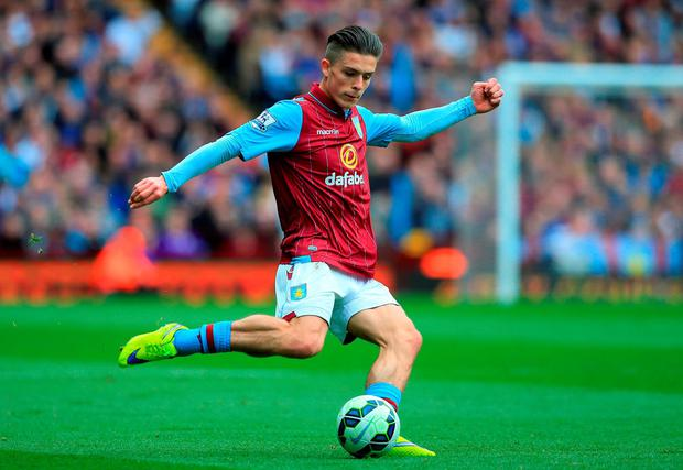 Aston Villa boss Tim Sherwood has revealed he has a love-hate relationship with teenage winger Jack Grealish