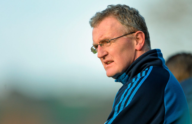 10 January 2015; Brian Lohan, University of Limerick manager. Waterford Crystal Cup Preliminary Round, Cork v University of Limerick, CIT GAA Grounds, Bishopstown, Co. Cork. Picture credit: Brendan Moran / SPORTSFILE