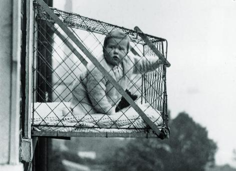 These contraptions were issued by the Chelsea Baby Club to families with no gardens