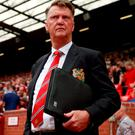 Manchester United manager Louis van Gaal has denied he is in urgent need of strikers