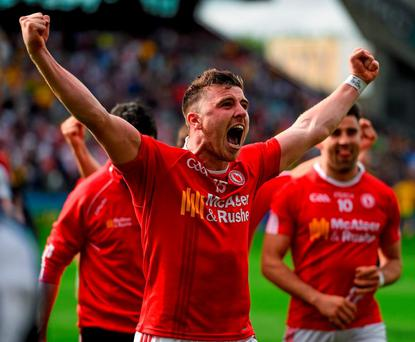 Tyrone's Connor McAliskey hopes to pierce holes Kerry's defense in today's All-Ireland semi-final