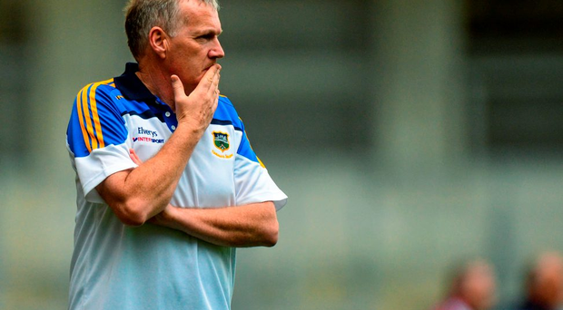 Eamon O'Shea stepped down last Sunday, after three years in charge of Tipperary