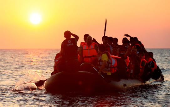 One factor driving migration in Europe is that our near-abroad is more war-prone than the western hemisphere