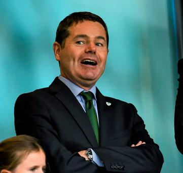 Minster for Transport Paschal Donohoe