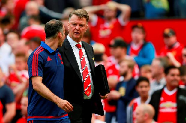 Louis van Gaal and Manchester United are struggling to get goals