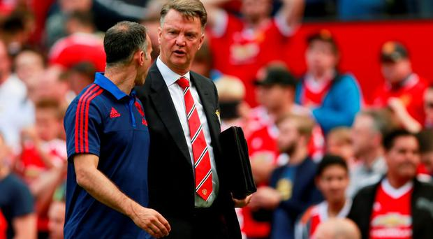 Louis van Gaal and Manchester United endured a frustrating afternoon in their goalless draw against Newcastle