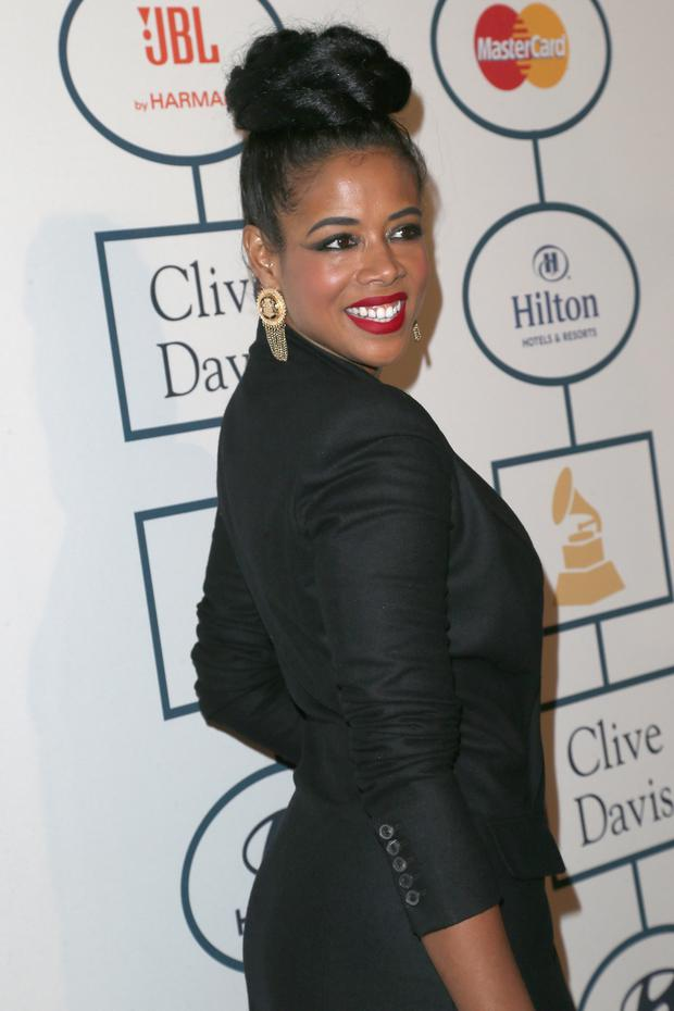Kelis attends the 56th annual GRAMMY Awards Pre-GRAMMY Gala
