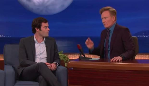 Bill Hader on Conan