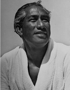 : Olympic swimmer Duke Kahanamoku. United States - circa 1938 (Photo by Rex Hardy Jr./The LIFE Picture Collection/Getty Images)