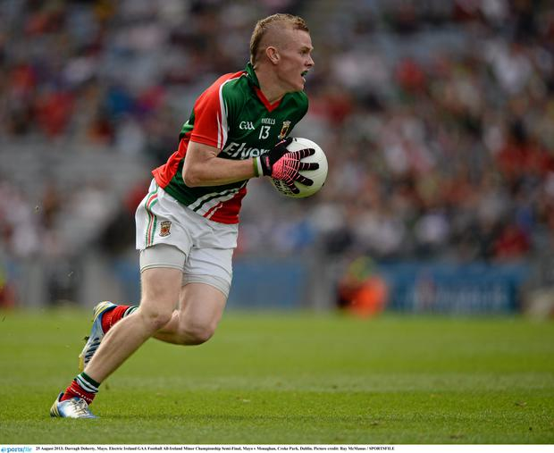 Darragh Doherty, Mayo. Electric Ireland GAA Football All-Ireland Minor Championship Semi-Final, Mayo v Monaghan, Croke Park, Dublin. Picture credit: Ray McManus / SPORTSFILE