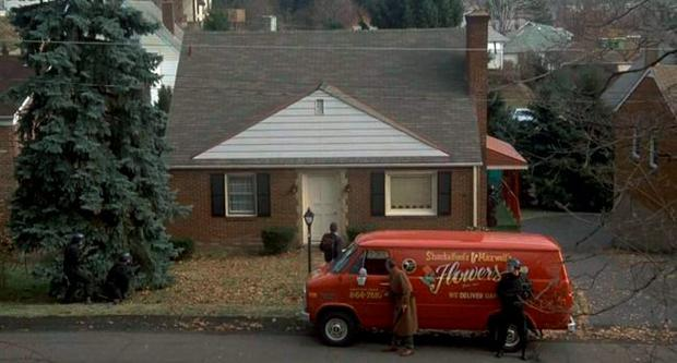 The house featured as psychotic killer Buffalo Bob's home in the 1991 film 'The Silence of the Lambs'