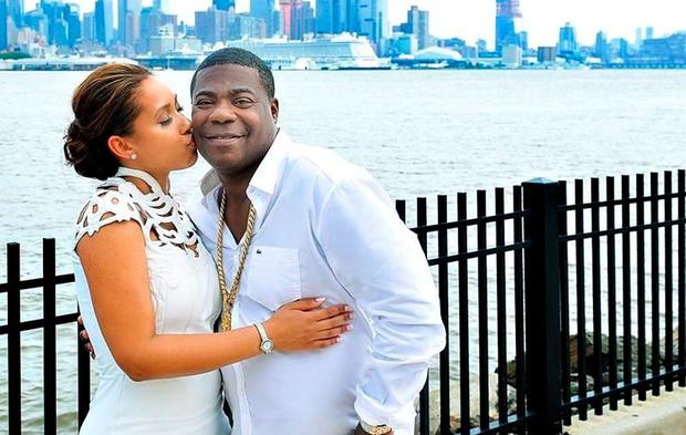 Tracy Morgan weds Megan Wollover in New York. Picture: Jess Tisman Photography via Megan Wollover/Facebook