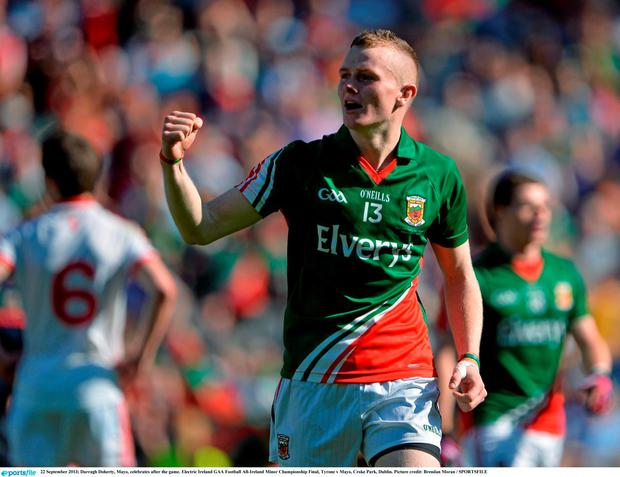 Darragh Doherty. Photo: Brendan Moran / Sportsfile