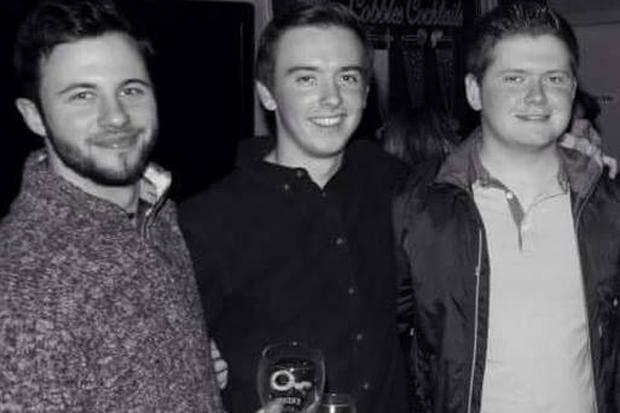 Peter Hughes, Conall Havern, Gavin Sloan (Photo: Cobbles Bar Kitchen Club)