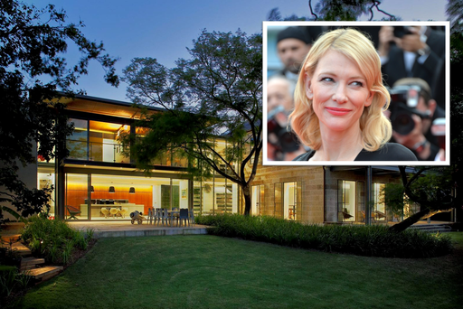 Cate Blanchett and Andrew Upton have placed their home on the market for €12.3m Photo via: www.domain.com.au