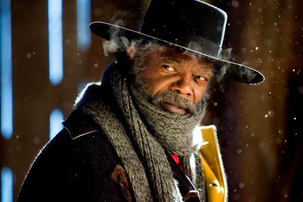 Samuel L Jackson in Quentin Tarantino's The Hateful Eight