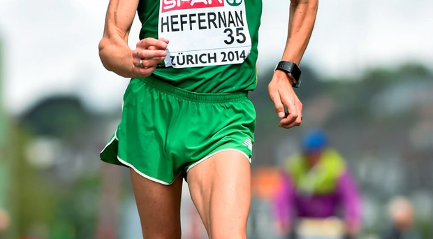 Rob Heffernan: 'I always go in with the expectation of trying to win a medal and I feel good'