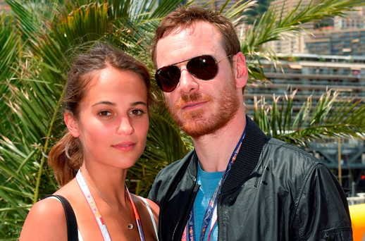 Michael Fassbender (pictured with Alicia Vikander) was one of the guests on Ryan Tubridy's 'Late Late Show'