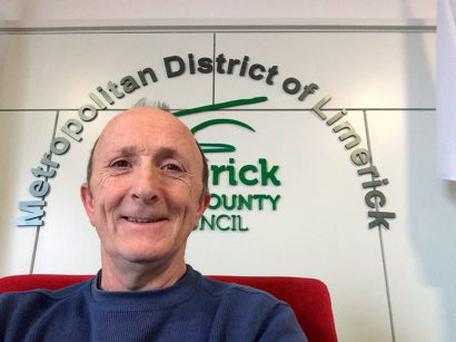 Limerick based Anti Austerity Alliance Councillor John Loftus is being investigated after telling a local activist that he would cut his throat Pic: Facebook