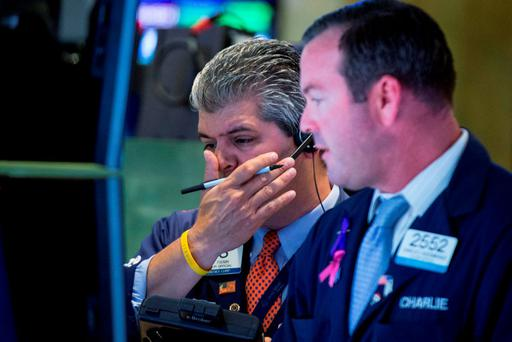 US stocks rebounded sharply on Tuesday as investors sought out bargains a day after Wall Street turned in its worst performance in four years. Photo: Reuters