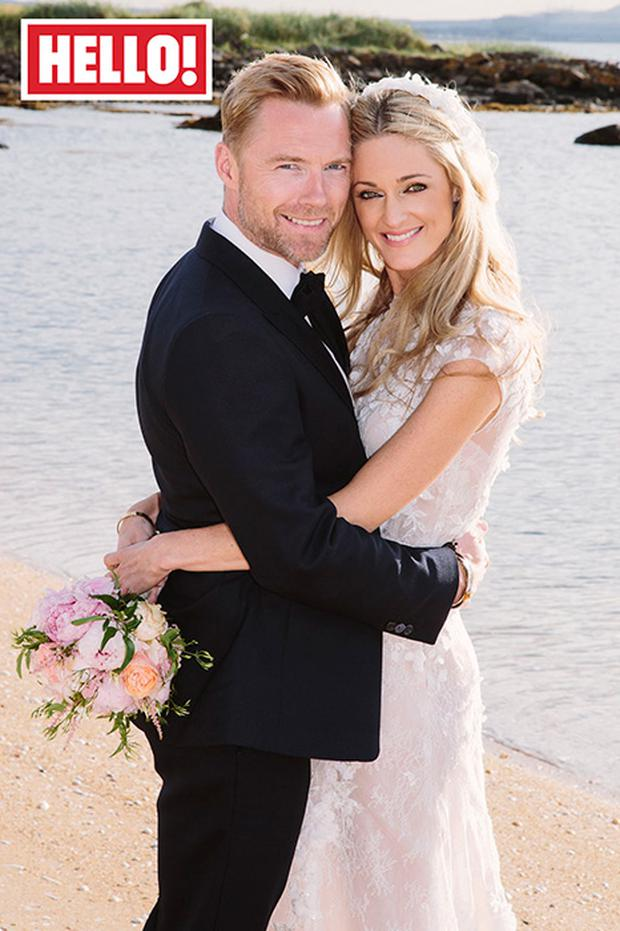 Ronan and Storm Keating's wedding was exclusively covered in Hello! Magazine
