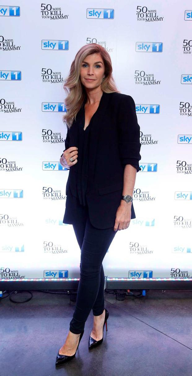 Yvonne Connolly pictured at the Dublin premiere of 50 Ways to Kill Your Mammy Season 2. Picture: Robbie Reynolds