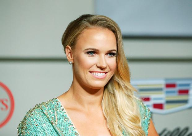 Caroline Wozniacki arrives at the BODY at ESPYS Pre-Party held at Milk Studios on July 14, 2015 in Los Angeles, California. (Photo by Michael Tran/FilmMagic)