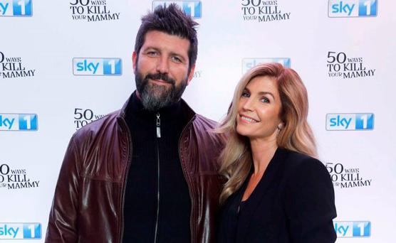 John Conroy and Yvonne Connolly pictured at the Dublin premiere of 50 Ways to Kill Your Mammy Season 2. Picture: Robbie Reynolds