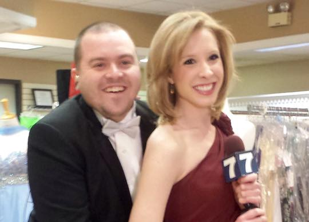 Murdered journalists and colleagues Adam Ward and Alison Parker Pic: Facebook