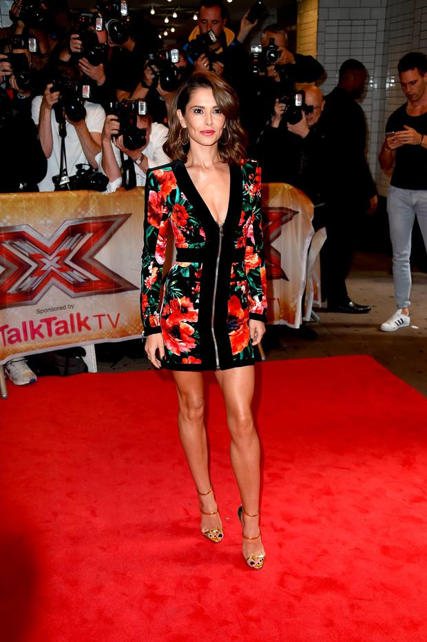 Cheryl Fernandez-Versini attends the press launch of