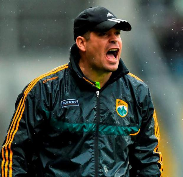 Kerry manager Eamonn Fitzmaurice