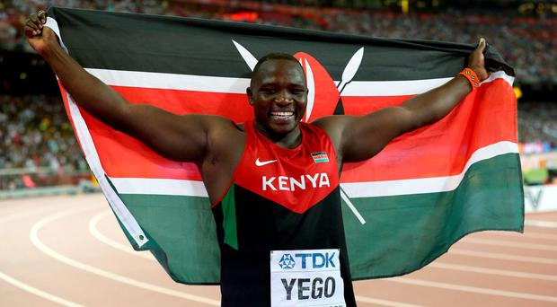 Julius Yego produced his winning effort in the third round, and a stacked field couldn't get near his whopping mark thereafter, with silver medallist Ihab Abdelrahman El Sayed of Egypt managing a best of 88.99m