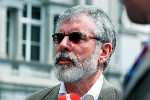 Nobody has ever challenged Gerry Adams for the party leadership in his 32 years as president of Sinn Féin