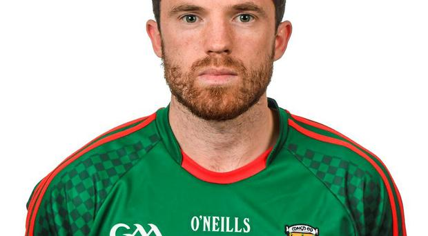 Mayo's Chris Barrett has been selected for this weekend's sellout clash with Dublin