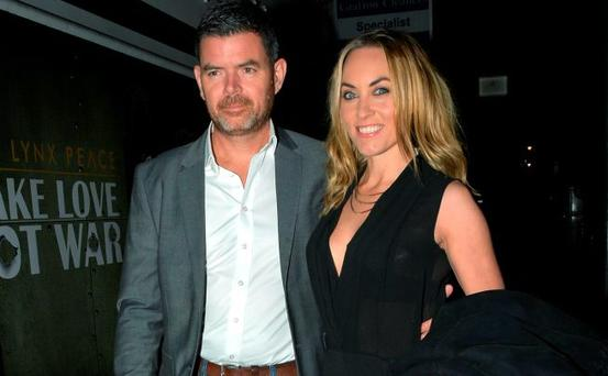 Padraig McLaughlin and Kathryn Thomas