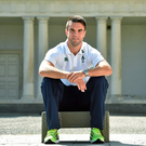 Ireland's Conor Murray after a press conference at Carton House