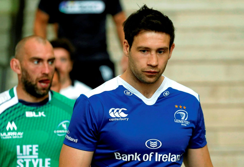 Leinster's Kevin McLaughlin at the Guinness PRO12 launch