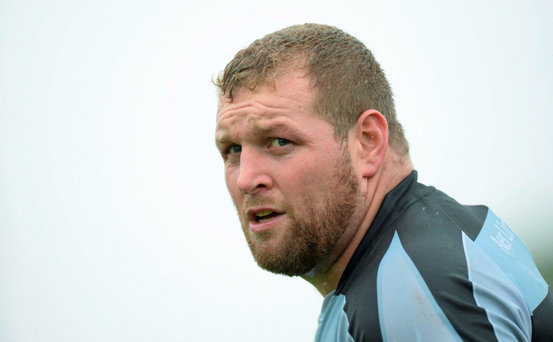 Former Connacht prop Brett Wilkinson took the reins at Buccaneers recently