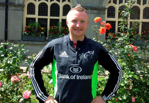 Munster U-18 Schools strength and conditioning coach Damien O'Donoghue