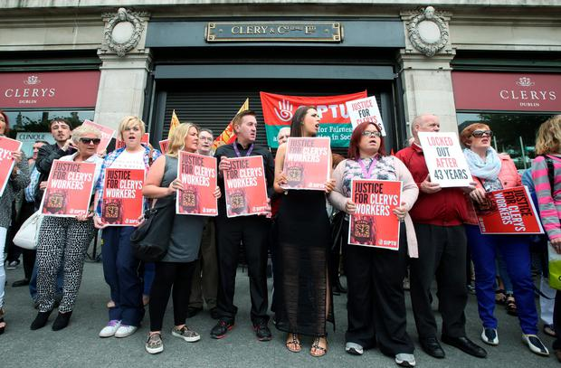 The State is to pay an estimated €2.5m to the 130 former direct employees of Clerys who were made redundant when the iconic department store shut in June