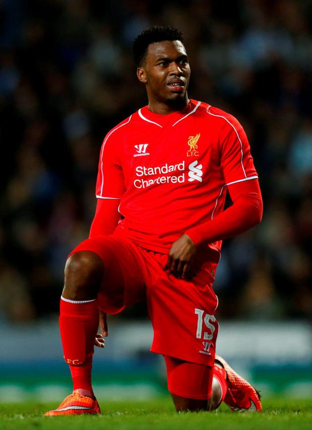 Liverpool striker Daniel Sturridge