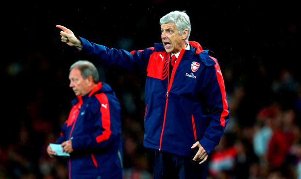 Arsene Wenger, Manager of Arsenal